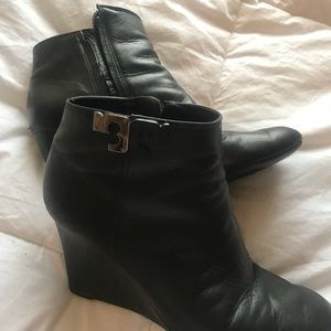 Tory Burch 2016 Wedge Booties- Tory box included!